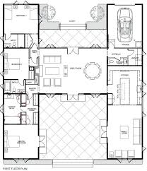 new h shaped house plans or designed house floor plan e for an h shaped