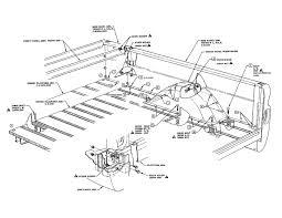 Bed fleetside diagram