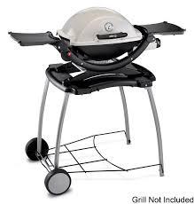Amazon.com : Weber 6549 Weber Q Rolling Cart : Outdoor Grill Carts : Garden  & Outdoor