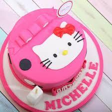 Jual Kue Hello Kitty Kue Ulang Tahun Birthday Cake Diameter 16