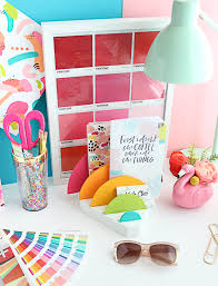 cute office organizers. I Love The Pop Of Color It Brings To My Office (like Really Need More Color! Ha!). But Is So Super Cute And Helps Me Keep Organized, Organizers F
