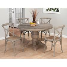 Amazing 5 Piece Dining Set Round Table 2 5 Piece Round Dining Table