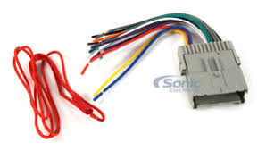 metra 70 2003 wiring harness for select 1998 2009 gmc vehicles car stereo wiring harness adapter at What Wiring Harness Do I Need