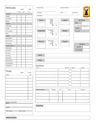 Rpg Character Sheet Designer Character Builder Open Legend Rpg Heromuster