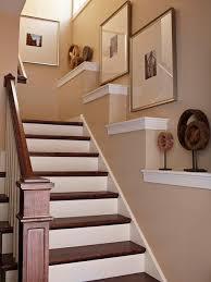 wall decor ideas staircase