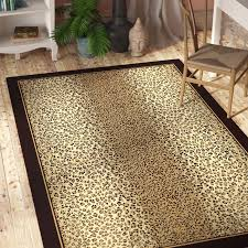 area rugs marlette cheetah animal print leopard brown beige indoor outdoor area rug