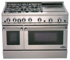 double oven gas range with griddle. Contemporary Double Zoomed DCS By Fisher U0026 Paykel Double Oven Gas Range Color Stainless  Steel With Griddle