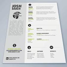 good cv design idea chief baker resume