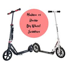 Hudora Vs Razor Big Wheel Scooter Comparisons Best