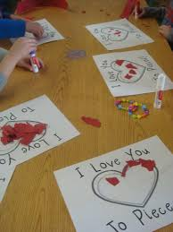 I Love You Crafts Parents Valentines Gift Behind The Scenes Mrs Gloudemans