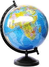 Thunderfit Original Globe Table Top Political World Globe