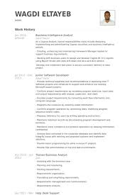 Sample Help Desk Analyst Resume Awesome Business Intelligence Analyst Resume Samples VisualCV Resume Samples