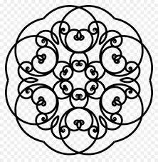 Download Mandala Drawing Coloring Book Kleurplaat Red Wine Mandala