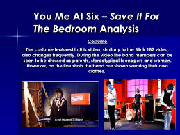 8. You Me At Six U2013 Save It For The Bedroom ...
