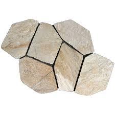 arctic white quartz. Arctic White Quartz Natural Slate Flagstone