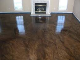 basement floor ideas do it yourself. Do It Yourself Polished Concrete Floor Stained Flooring By Christian Basement Ideas N
