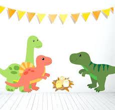 dinosaur wall sticker set stickers australia children s