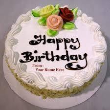 Birthday Cake Name Edit Online Free Abc Birthday Cakes