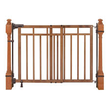 Summer Infant 33 in. Banister and Stair Gate with Dual Installation ...
