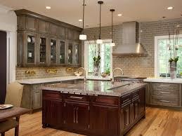 black high gloss wood large cabinet gray kitchen cabinets modern beige tile ceramic backsplash cream wall color ideas mosaic wall for backsplashes white