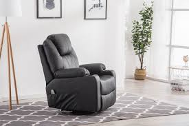 Control Reclining Heated Massage Chair