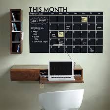 DIY Chalkboard wall calendar ideas
