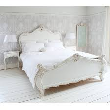 Provencal Sassy White French Bed (Double)