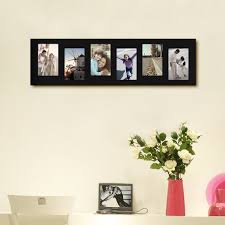modern picture frames collage. Adeco Decorative Black Wood Offset Wall Hanging Picture Photo Frame Collage For 4x6 (6 Openings Modern Frames A