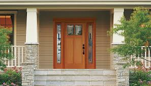 Front Door Garden Design Interesting Craftsman Collection Wood Doors Simpson Doors