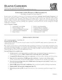 Construction Project Manager Resume Template Inspiration Construction Project Manager Resume Template 48 Sample Mhidglobalorg