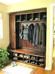 Mudroom Coat Rack Fascinating Mudroom Coat Rack Ideas Mudroom Shoe Rack Storage Bench With And