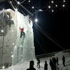 outdoor ice wall