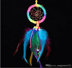 Cheap Dream Catchers Stunning 32 Hot Sale Cheap Small Rainbow Dream Catcher For Cars Home Wall