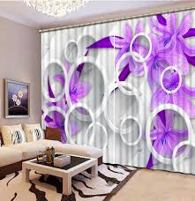 Purple Curtains For Bedroom Light Purple Curtains Promotion Shop For Promotional Light Purple