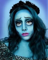 corpse bride face paint makeup