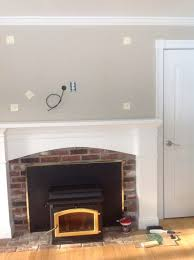 Extend fireplace mantel?