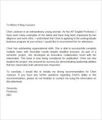Self Recommendation Letter Enchanting LetterofRecommendationforMiddleSchoolStudent Addyson Bday