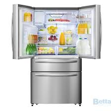 hisense 701l stainless steel french door fridge roll over image to zoom prev