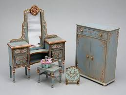 miniature furniture plans. Miniature Dollhouse Furniture Doll House Scale Chic Styled Home Decor Ideas Plans