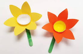 Flower Paper Craft Diy Daffodil Paper Craft For Kids S S Blog