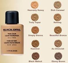 black opal true colour liquid foundation with concealer anic makeup brands for dark skin the best