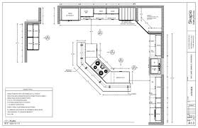 Kitchen Design Plans Template