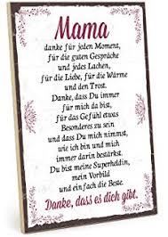 Danke Mama Bild Mit Rahmen Geburtstags Geschenk Für Deine Mutti