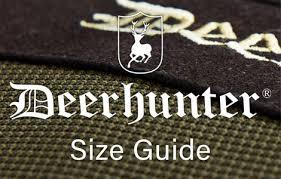 Deerhunter Jacket Size Chart Deerhunter Size Guide Clothing Accessories Ardmoor