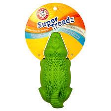 arm hammer super treadz gator dog toy chew toys meijer grocery pharmacy home more