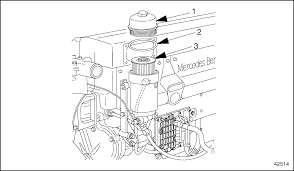 Scheduled intervals mbe 4000 workshop manuals carter fuel filter element clean the outside of the fuel