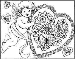 Small Picture Flower Coloring Pages for Adults Day Coloring Pages Valentine