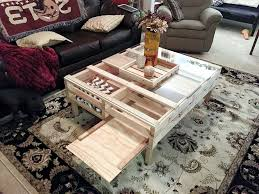 diy pallet coffee table with glass top pallet coffee table with glass top storage 101 pallets