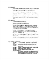 5 makeup artist resume templates pdf doc free
