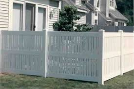 vinyl fence designs. Fine Fence Semi Private Vinyl Fence By Carnahan White On Designs I
